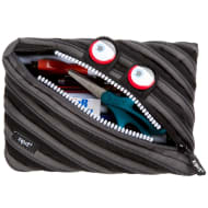 Zip It Jumbo Pencil Pouch - Black