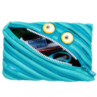 Zip It Jumbo Pencil Pouch - Blue