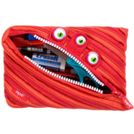 Zip It Jumbo Pencil Pouch - Red