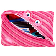 Zip It Jumbo Pencil Pouch - Pink