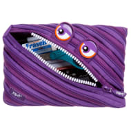 Zip It Jumbo Pencil Pouch - Purple