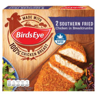 Birds Eye 2 Southern Fried Chicken 180g