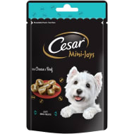 Cesar Mini Joys 100g - Cheese & Beef