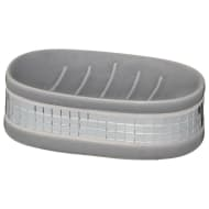Luxe Soap Dish - Grey