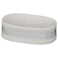 Luxe Soap Dish - White