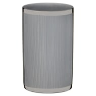 Metallic Printed Tumbler - Grey Stripes