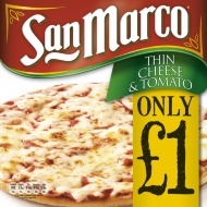San Marco Cheese & Tomato Pizza 253g