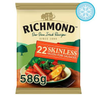 Richmond Skinless Pork Sausages 22pk