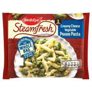 Birds Eye Steamfresh Creamy Cheese Vegetable Penne Pasta 350g