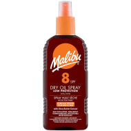 Malibu Dry Oil Spray Factor 8 200ml