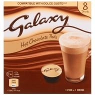 Galaxy Hot Chocolate Pods 8pk