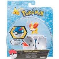 Pokémon Throw n' Pop Poké Ball & Figure - Fennekin