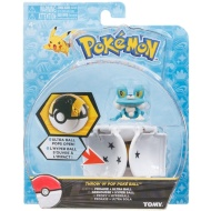 Pokémon Throw n' Pop Poké Ball & Figure - Froakie