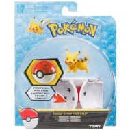 Pokémon Throw n' Pop Poké Ball & Figure - Pikachu