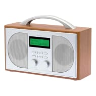 Goodmans DAB Wooden Radio