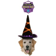 Pets Halloween Witch Hat