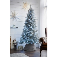 Pre-Lit Montana Silver Christmas Tree 7ft