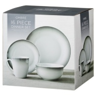Ombre Dinner Set 16pc