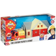 Fireman Sam Fire Station Playset & Venus