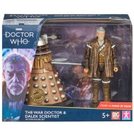 Doctor Who Collectible Action Figure - War Doctor & Dalek Scientist
