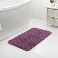 Shaggy Bath Mat - Purple