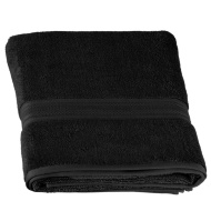Signature Bath Sheet - Black