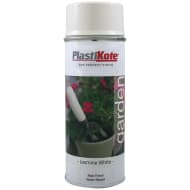 Plastikote Garden Spray Paint 400ml - Jasmine White