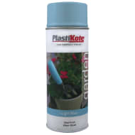 Plastikote Garden Spray Paint 400ml - Light Blue