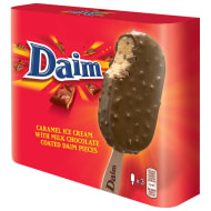 Daim Ice Cream Sticks 3 x 110ml