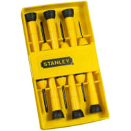 Stanley Precision Screwdriver Set 6pc