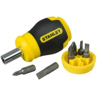 Stanley Stubby Multi-Bit Screwdriver