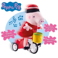 Peppa Pig Cycling Plush Toy
