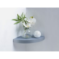 Lokken Corner Shelf - Grey