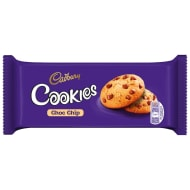 Cadbury Choc Chip Cookies 135g