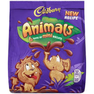Cadbury Chocolate Animals 6pk