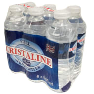Cristaline Still Spring Water 6 x 500ml