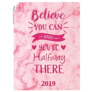A5 Planner Diary 2019 - Believe You Can