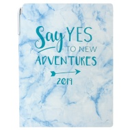 A5 Planner Diary 2019 - Say Yes to New Adventures