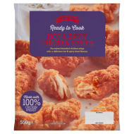 Chick-Inn Hot & Spicy Chicken Strips 550g