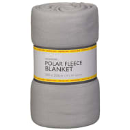 Polar Fleece Blanket 200 x 250cm - Grey
