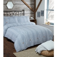 Silentnight Cable Knit King Size Duvet Set