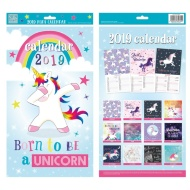 Midi Family Calendar 2019 - Unicorn