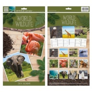 Midi Family Calendar 2019 - Wildlife