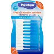 Wisdom Clean Between Brushes 20pk