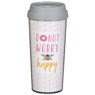 Thermal Travel Mug - Donut