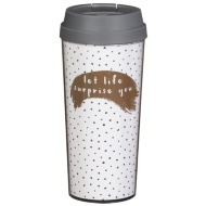 Thermal Travel Mug - Life