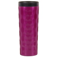 Stainless Steel Wave Travel Mug - Purple