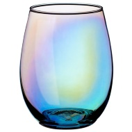 Iridescent Tumbler Glasses 4pk