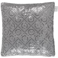 Karina Bailey Luxor Sequin Cushion - Charcoal