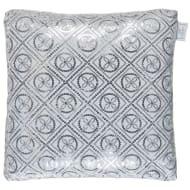 Karina Bailey Luxor Sequin Cushion - Silver